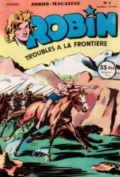 Robin l'intrépide (mensuel) -5- Troubles à la frontière