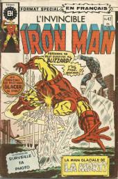 L'invincible Iron Man (Éditions Héritage) -42- La main glacée de la mort!