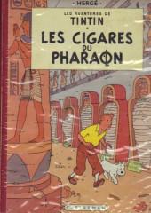Tintin (Historique) -4B33- Les cigares du pharaon