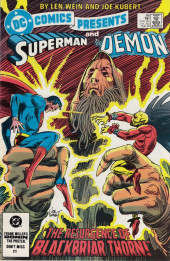 DC Comics Presents (1978) -66- The Resurgence of Blackbriar Thorn!