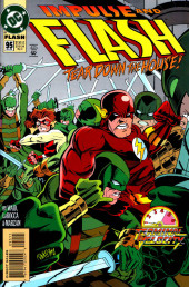 Flash (The) Vol.2 (DC comics - 1987) -95- Impulse and Flash Tear Down the House!