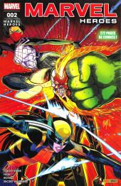 Marvel Heroes (Marvel France - 2018) -2- Pied Au Plancher