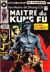 Les mains de Shang-Chi, maître du Kung-Fu (Éditions Héritage) -37- Cuivre et nuit
