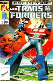 Les transformers (Éditions Héritage) -1- Les Transformers