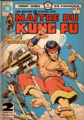 Les mains de Shang-Chi, maître du Kung-Fu (Éditions Héritage) -6869- Tel un dieu pleurant la flamme