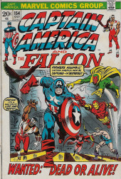 Captain America (1968) -154- The Falcon Fights Alone!