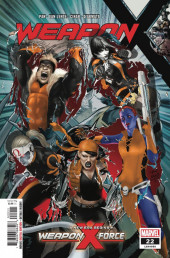 Weapon X (2017) -22- Weapon X-Force: Part One