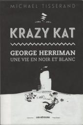 (AUT) Herriman - Krazy Kat - George Herriman - Une Vie en noir et blanc
