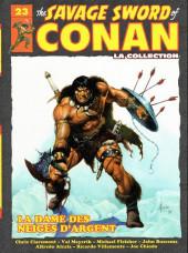 Savage Sword of Conan (The) (puis The Legend of Conan) - La Collection (Hachette) -23- La dame des neiges d'argent