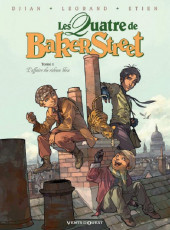 Les quatre de Baker Street -1a12- L'affaire du rideau bleu