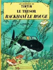 Tintin (Historique) -12C6bis- Le trésor de Rackham Le Rouge