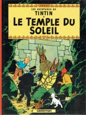 Tintin (Historique) -14C7- Le temple du soleil