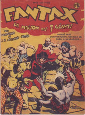 Fantax (1re série) -14- La maison des sept géants