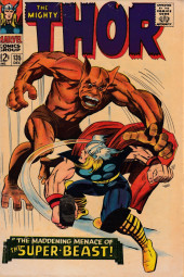 Thor (1966) -135- The Maddening Menace of the Super-Beast!