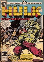 L'incroyable Hulk (Éditions Héritage) -7071- Ecrasé par le constricteur !