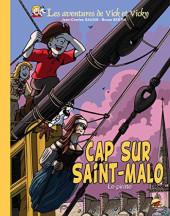 Vick et Vicky (Les aventures de) -23TL- Cap sur Saint-Malo