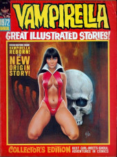 Vampirella (Warren) -ANN 1972- Great illustrated stories !