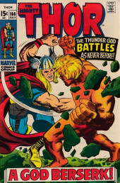 Thor (1966) -166- A God Berserk!