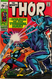 Thor (1966) -170- The Thunder God and the Thermal Man!