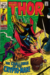 Thor (1966) -174- The Carnage of the Crypto Man!