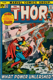 Thor (1966) -193- What Power Unleashed?
