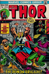 Thor (1966) -213- The Demon Brigade!!