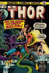 Thor (1966) -230- The Sky Above...The Pits Below!