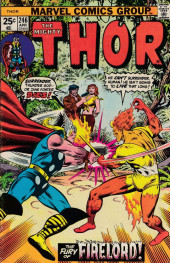 Thor (1966) -246- The Fury of Firelord!