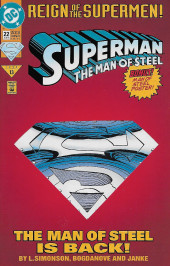 Superman: The Man of Steel Vol.1 (DC comics - 1991) -22- Steel