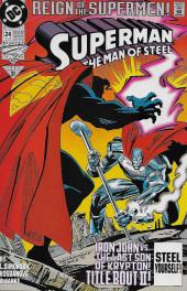Superman: The Man of Steel Vol.1 (DC comics - 1991) -24- Impact!