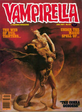 Vampirella (Warren) -93- The cobra goddess