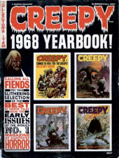 Creepy (Warren) -ANN1968- Year book 1968