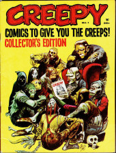 Creepy (Warren) -1- Comics to give you the creeps !
