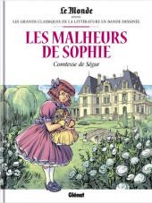 Les grands Classiques de la littérature en bande dessinée -45- Les Malheurs de Sophie