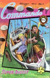 Commando (1re série - Artima) -10- Le mitrailleur et la nurse
