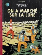 Tintin (Historique) -17B14- On a marché sur la Lune