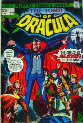 Tomb of Dracula (The) (1972) -7- The Child is Slayer of the Man!