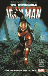 The invincible Iron Man (2016) -INT- The Search for Tony Stark