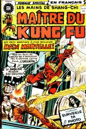Les mains de Shang-Chi, maître du Kung-Fu (Éditions Héritage) -21- Main de mort et soleil de Mordillo