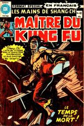 Les mains de Shang-Chi, maître du Kung-Fu (Éditions Héritage) -41- Les âges de la mort!