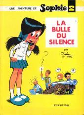 Sophie (Jidéhem) -2a- La bulle du silence