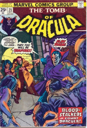 The tomb of Dracula (1972) -25- Blood Stalkers of Count Dracula!