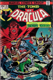 The tomb of Dracula (1972) -35- Frank Drake battles an army of the undead --