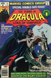 The tomb of Dracula (1972) -70- Death of the Night Stalker!
