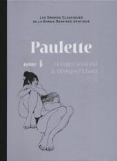 Les grands Classiques de la Bande Dessinée érotique - La Collection -6560- Paulette - Tome 4