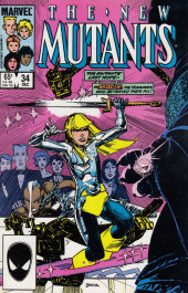 New Mutants (The) (1983) -34- With a Little Bit of Luck!
