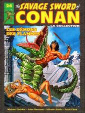 Savage Sword of Conan (The) (puis The Legend of Conan) - La Collection (Hachette) -24- Les démons des flammes !