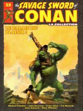 Savage Sword of Conan (The) (puis The Legend of Conan) - La Collection (Hachette) -25- Le palais du plaisir !