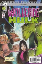Wolverine/ Hulk (2002) -3- Wolverine/ Hulk #3