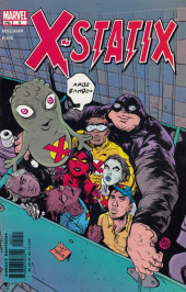 X-Statix (2002) -5- Good Omens: Part 5 of 5 The Mysterious Fan Boy!